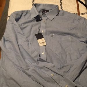 Stanford Travel Fitted NWT Button Up